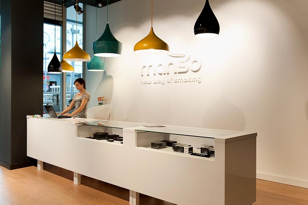 MANSO – Projekt sieci sklepów z e-papierosami