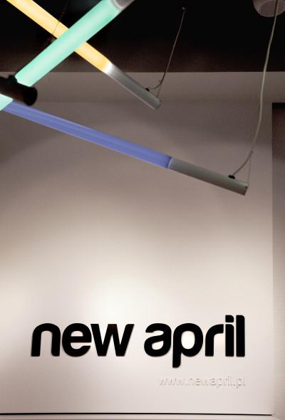 Projekt konceptu sklepów New April