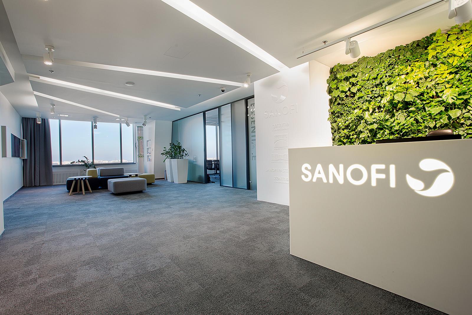 Projekt biura Sanofi Aventis