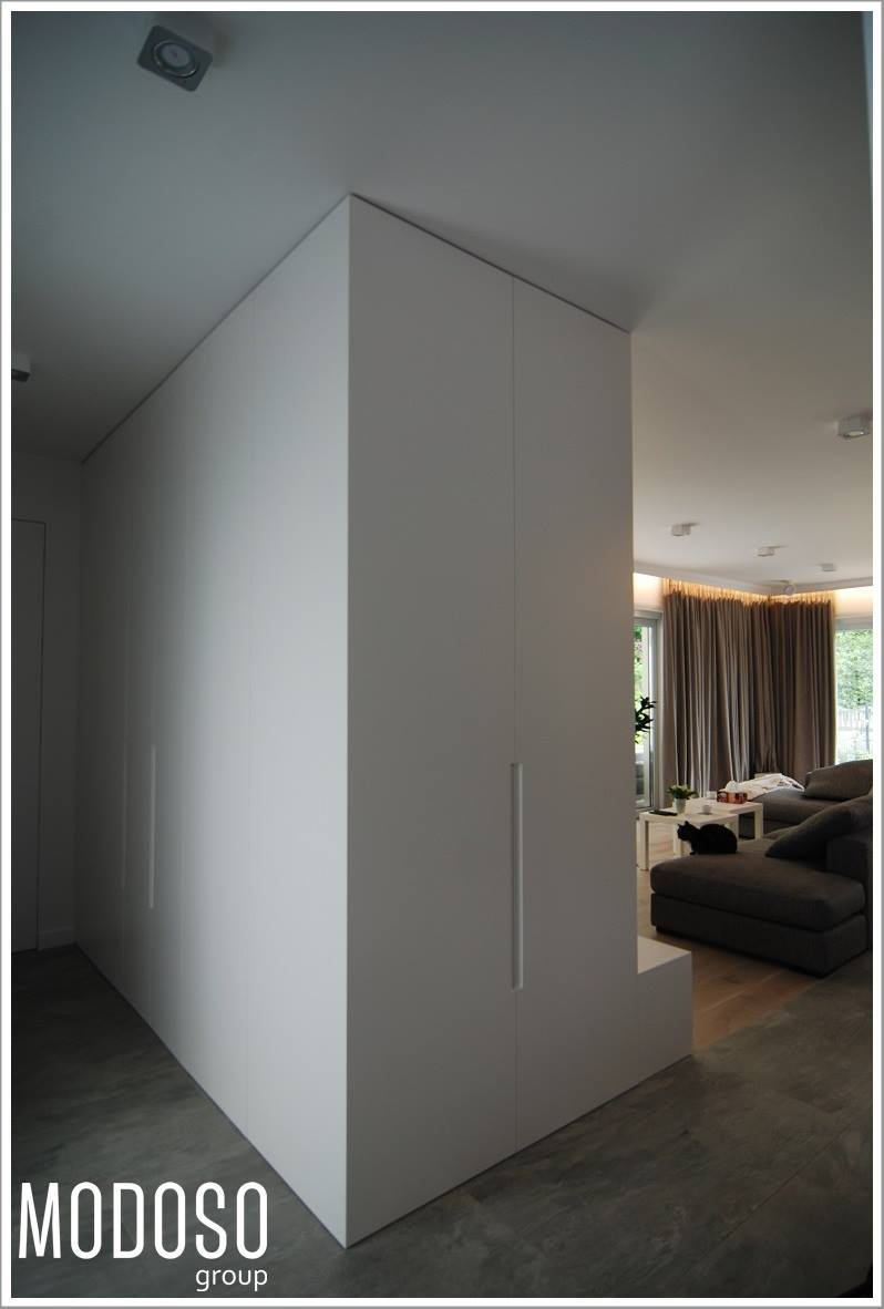 Projekt wnętrz nowoczesnego apartamentu na Bielanach
