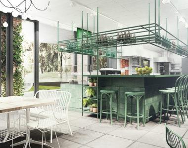Restauracja Fontanna i Pawilon Artystyczny w Multimedialnym Parku Fontann