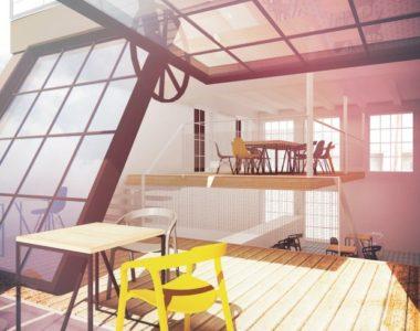 Bar pod słońcem – nowy projekt restauracji na dachu w Warszawie. Dom Towarowy Braci Jabłkowskich.