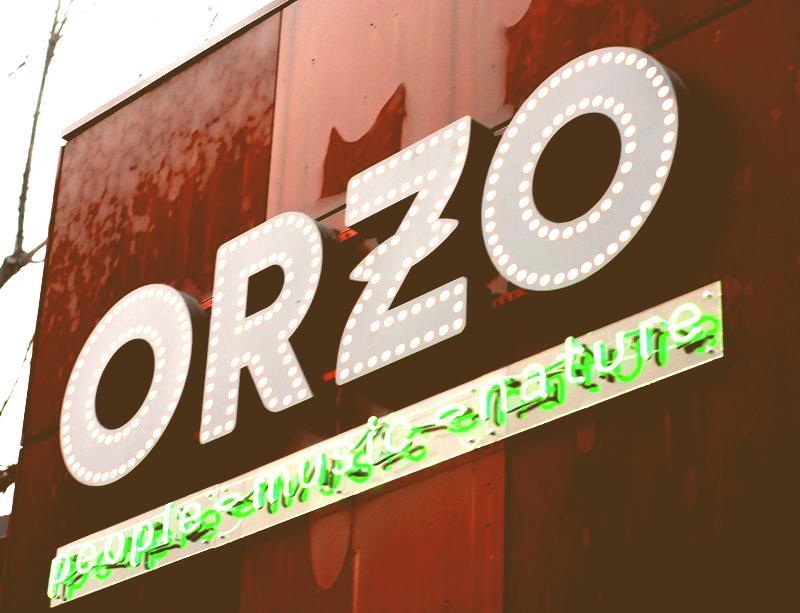 Restauracja ORZO Music People Nature na Zabłociu w Krakowie