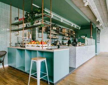 Semo Cafe – projekt kawiarni w Warszawie