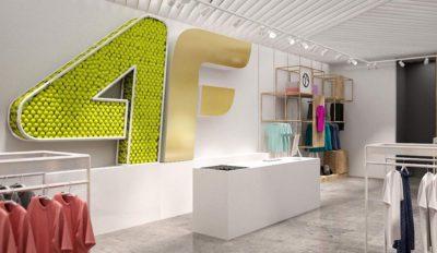 4F Projekt sieci sklepów z odzieżą sportową