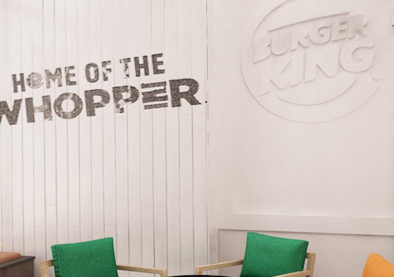 restaurant concept Burger King
