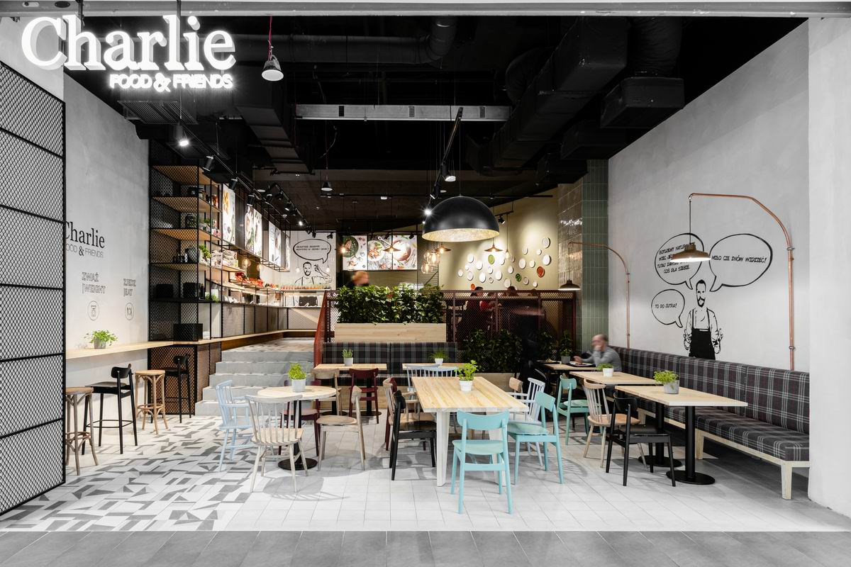 Charlie Food & Friends – chain concept of restaurants