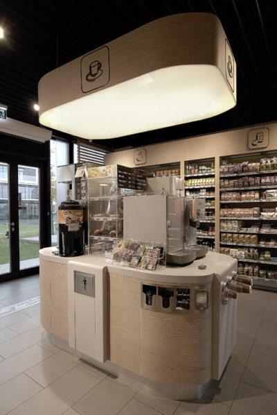 1Minute – shop concept design / projekt konceptu sieci sklepów typu convenience na Europę