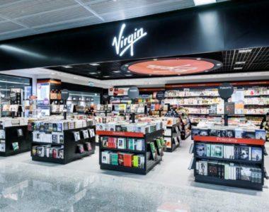 VIRGIN on Warsaw Airport – design of Virgin store in Europe