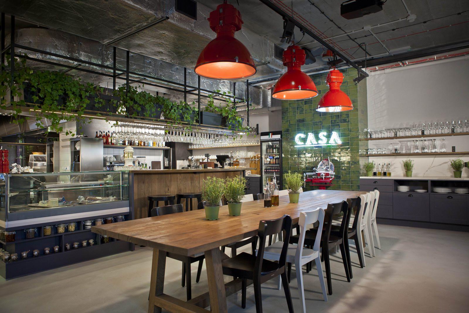 CASA RISTORANTE – projektowanie restauracji w budynkach biurowych