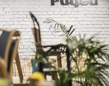 Projekt salonu i biura Paged Meble w Warszawie
