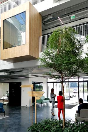 Projekt nowoczesnego holu w Centrum Badawczo Rozwojowym Celon Pharma